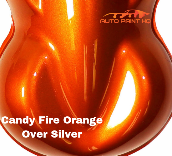 Candy Fire Orange Basecoat Quart Kit (Over Silver Base)