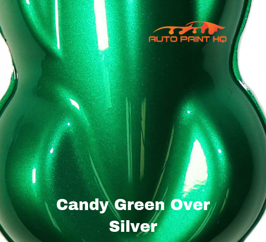 Candy Green Basecoat Quart Kit (Over Silver Base)