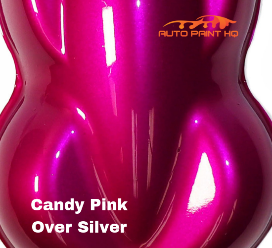 Candy Pink Basecoat Gallon Kit (Over Silver Base)