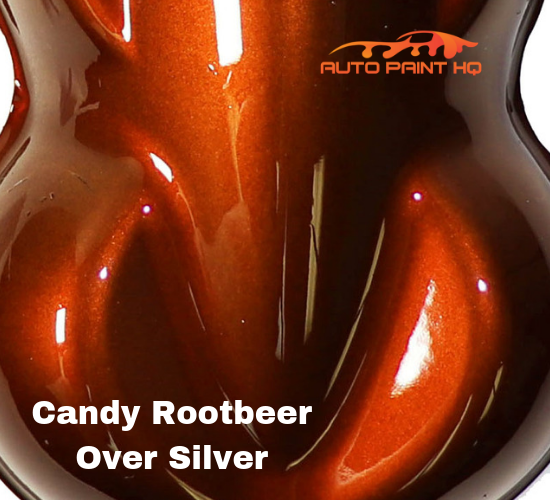 Candy Rootbeer Basecoat Gallon Kit (Over Silver Base)