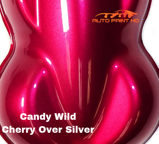 Candy Wild Cherry Basecoat Quart Kit (Over Silver Base)
