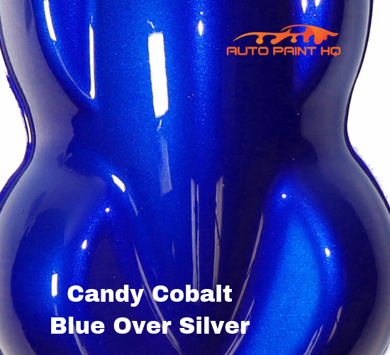 Candy Cobalt Blue Basecoat Quart Kit (Over Silver Base)