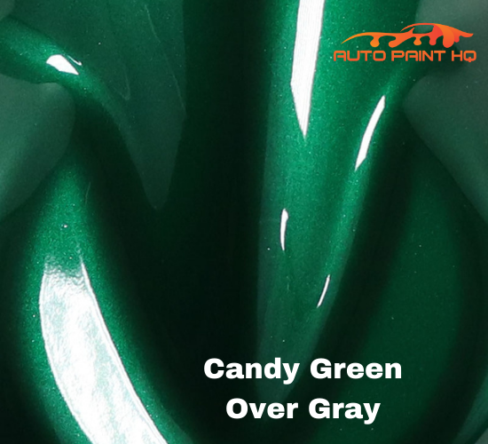 Candy Green Basecoat Quart Kit (Over Metallic Gray Base)