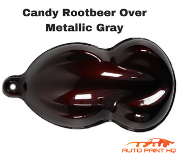 Candy Rootbeer Basecoat Quart Kit (Over Metallic Gray Base)