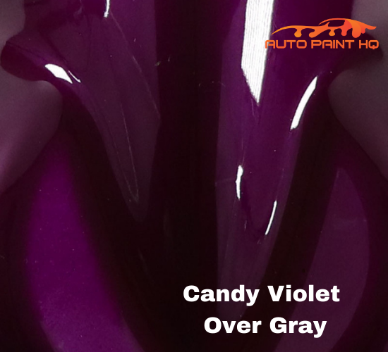 Candy Violet Basecoat Gallon Kit (Over Metallic Gray Base)