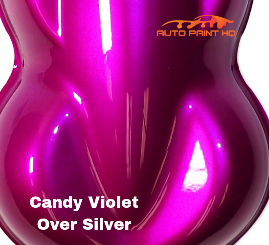 Candy Violet Quart with Reducer (Candy Midcoat Only) Car Auto Motorcycle Kit