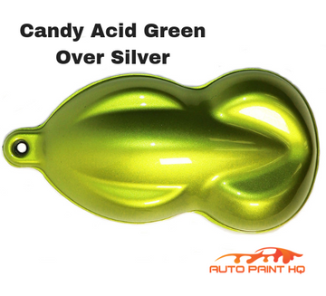 Candy Acid Green Quart with Reducer (Candy Midcoat Only) Car Auto Motorcycle Kit