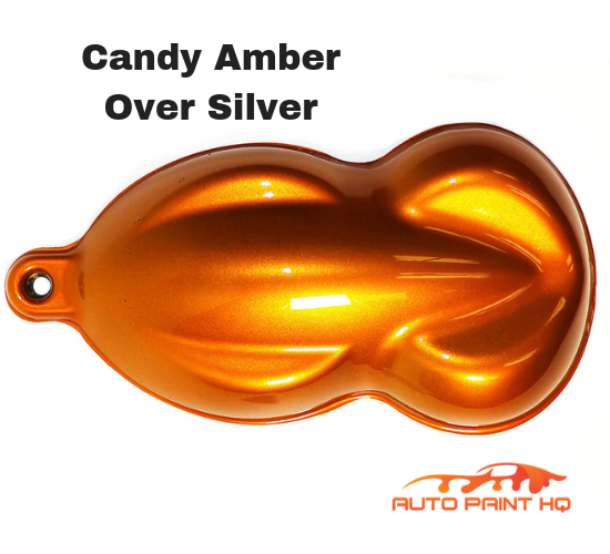 Candy Amber Quart with Reducer (Candy Midcoat Only) Car Auto Motorcycle Kit