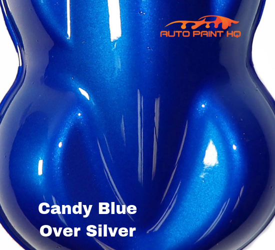 Candy Blue Gallon with Gallon Reducer (Candy Midcoat Only) Car Auto Paint Kit