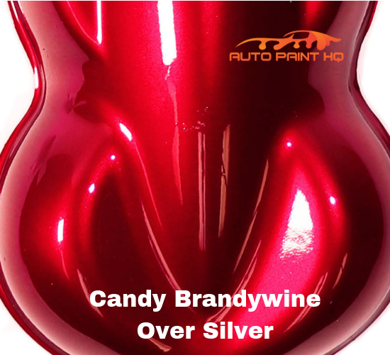Candy Brandywine Gallon with Reducer (Candy Midcoat Only) Car Auto Paint Kit