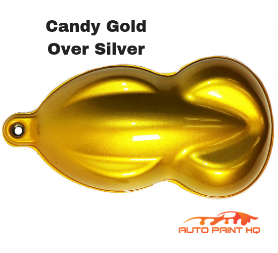 Candy Gold Quart with Reducer (Candy Midcoat Only) Car Auto Motorcycle Kit