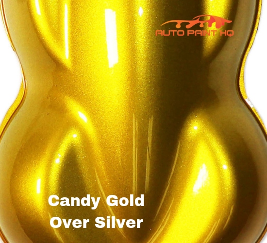 Candy Gold Gallon with Gallon Reducer (Candy Midcoat Only) Car Auto Paint Kit