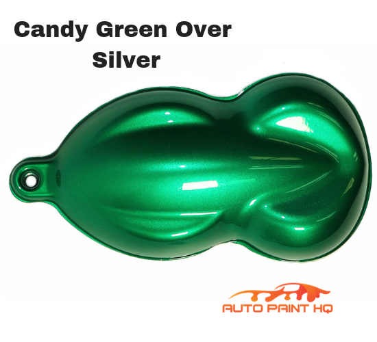 Candy Green Quart with Reducer (Candy Midcoat Only) Car Auto Motorcycle Kit