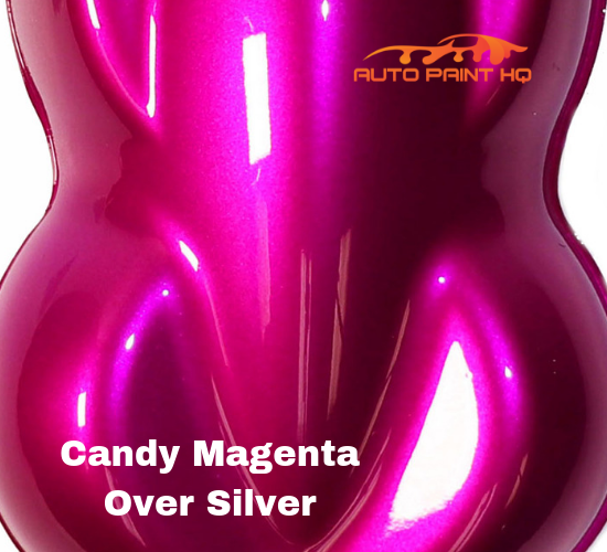 Candy Magenta Quart with Reducer (Candy Midcoat Only) Car Auto Motorcycle Kit