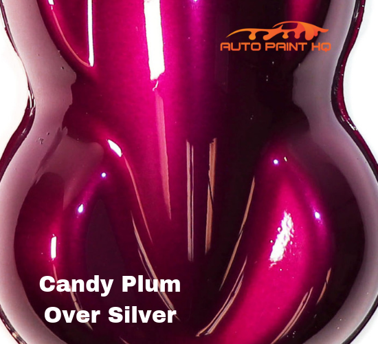Candy Plum Quart with Reducer (Candy Midcoat Only) Car Auto Motorcycle Kit