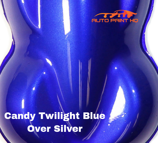 Candy Twilight Blue Gallon with Reducer (Candy Midcoat Only) Car Auto Paint Kit