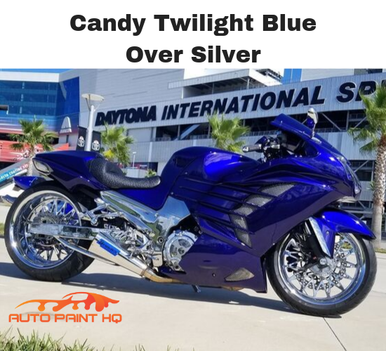 Candy Twilight Blue Quart with Reducer (Candy Midcoat Only) Auto Motorcycle Kit