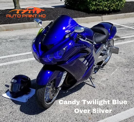 Candy Twilight Blue Basecoat Gallon Kit (Over Silver Base)