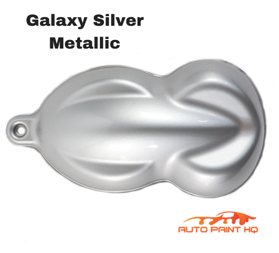 Galaxy Silver Basecoat with Reducer Gallon (Basecoat Only) Car Auto Paint Kit