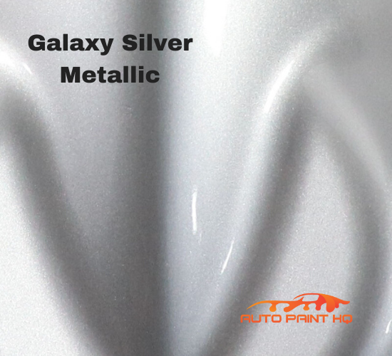 Galaxy Silver Basecoat + Reducer Quart (Basecoat Only) Motorcycle Auto Paint Kit