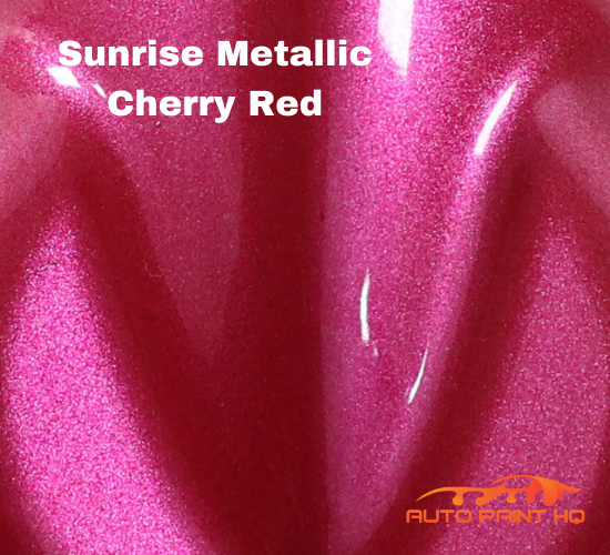 Sunrise Super Coarse Metallic Cherry Red Basecoat Gallon Kit
