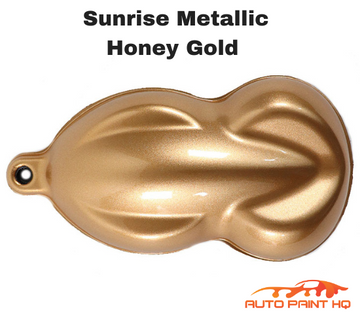 Sunrise Super Coarse Metallic Honey Gold Basecoat Quart Kit