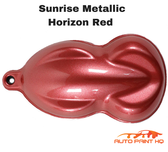 Sunrise Super Coarse Metallic Horizon Red Gallon (Basecoat Only) Kit