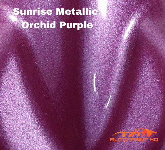 Sunrise Super Coarse Metallic Orchid Purple Gallon (Basecoat Only) Car Auto Kit