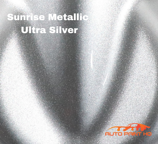 Sunrise Super Coarse Metallic Ultra Silver Basecoat Quart Motorcycle Kit