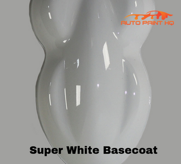 Super White Basecoat Clearcoat Gallon Car Vehicle Automotive Auto Paint Kit