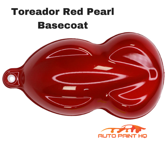Toreador Red Pearl Basecoat + Reducer Gallon (Basecoat Only) Car Auto Paint Kit