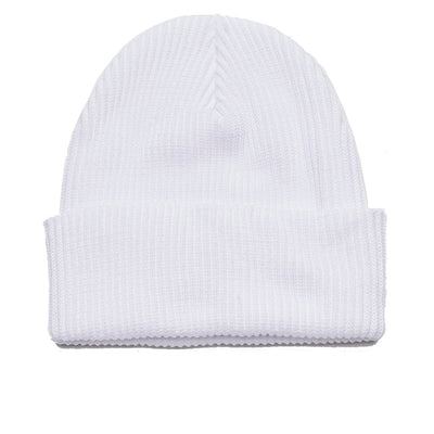 Ideals Organic Beanie White | OBEY Clothing