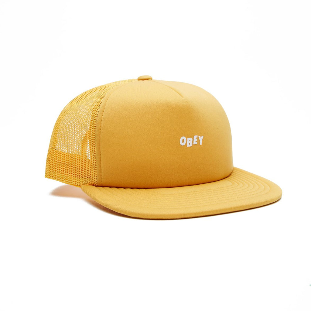 Jumble Bar Trucker Hat Energy Yellow | OBEY Clothing