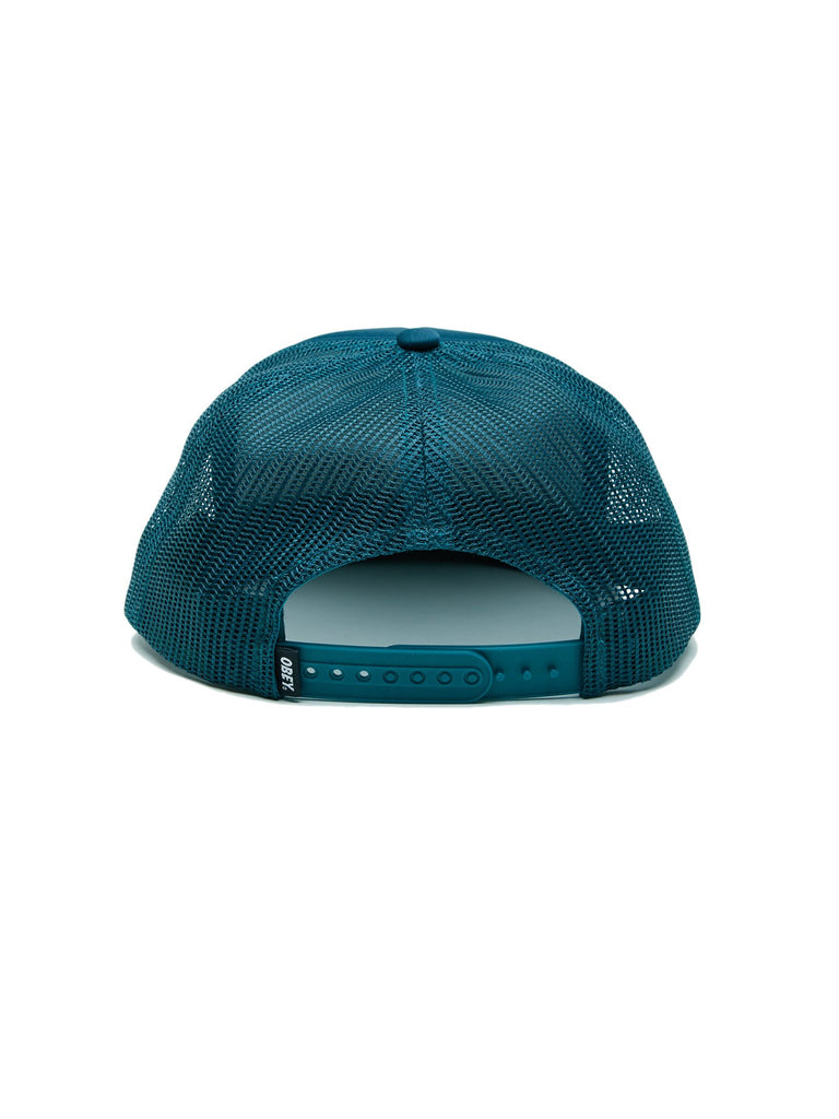 Jumble Bar Trucker Hat Pine | OBEY Clothing