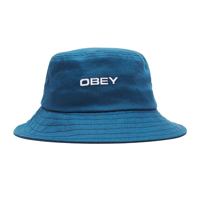 Luna Bucket Hat Navy | OBEY Clothing