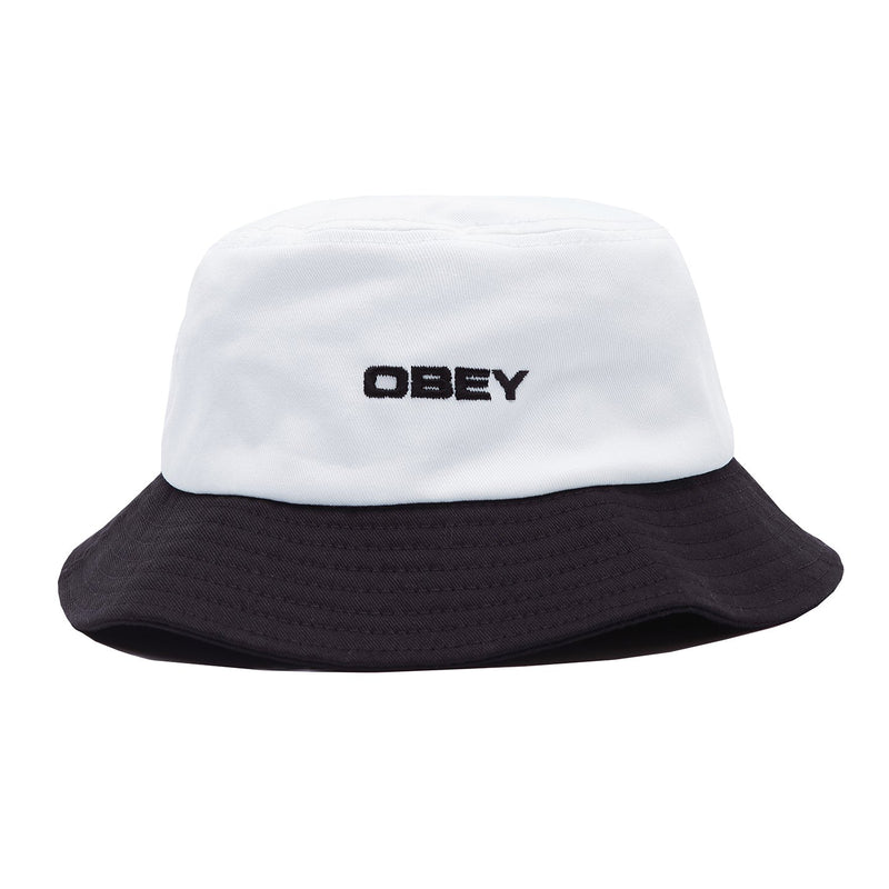 Babe Bucket Hat White Multi | OBEY Clothing