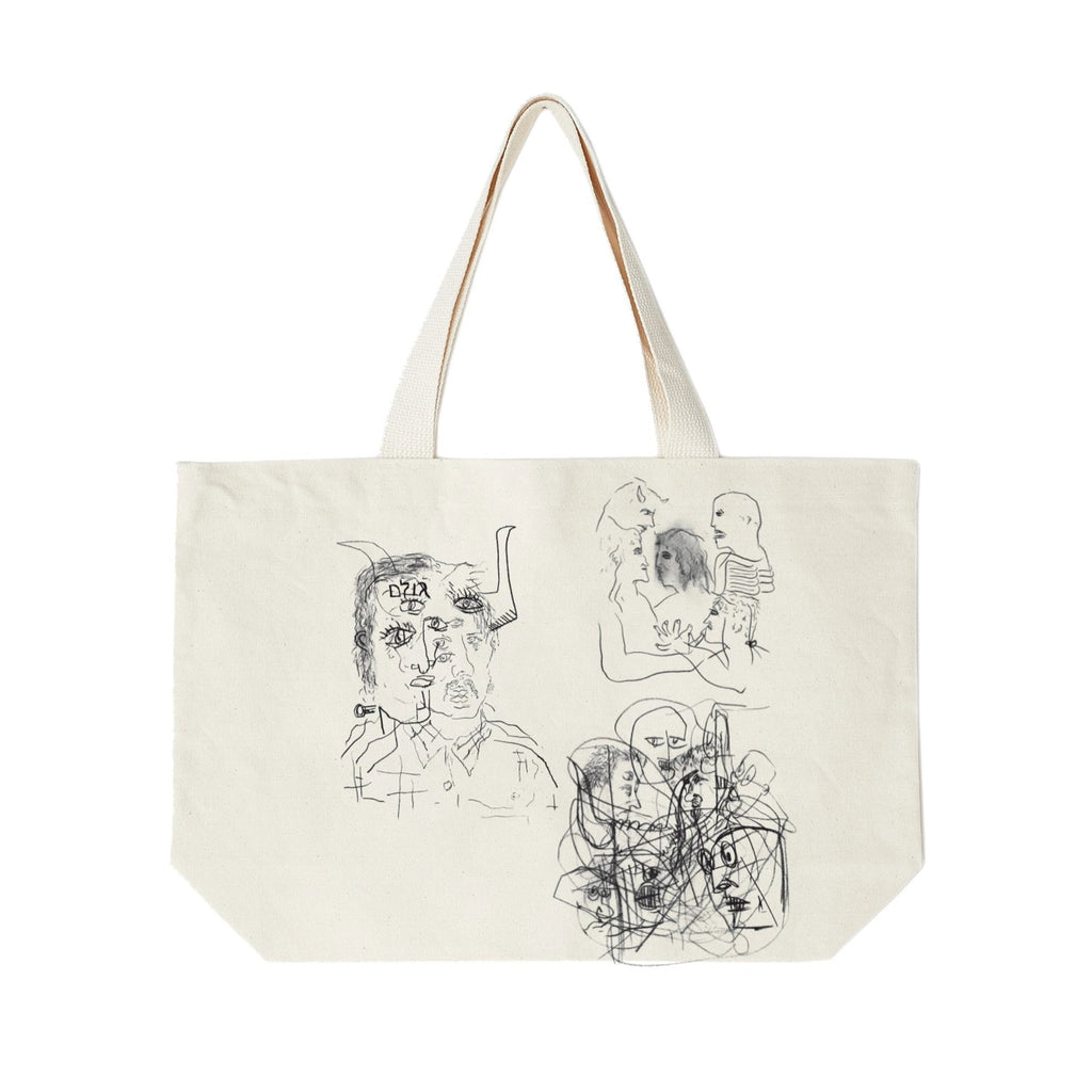 The Golem & His Friends Tote Natural | OBEY Clothing