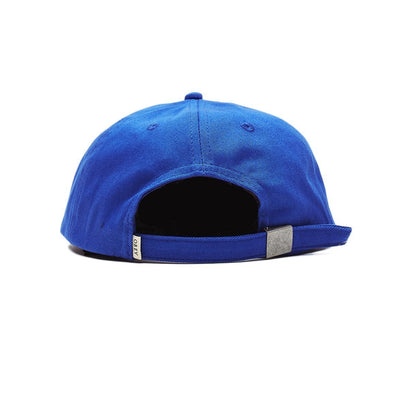 Ideals Organic 6 Panel Strapback Royal Blue | OBEY Clothing