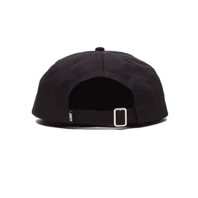 Munchies 6 Panel Strapback Black | OBEY Clothing