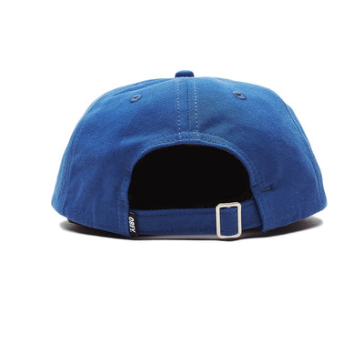 Munchies 6 Panel Strapback Blue | OBEY Clothing