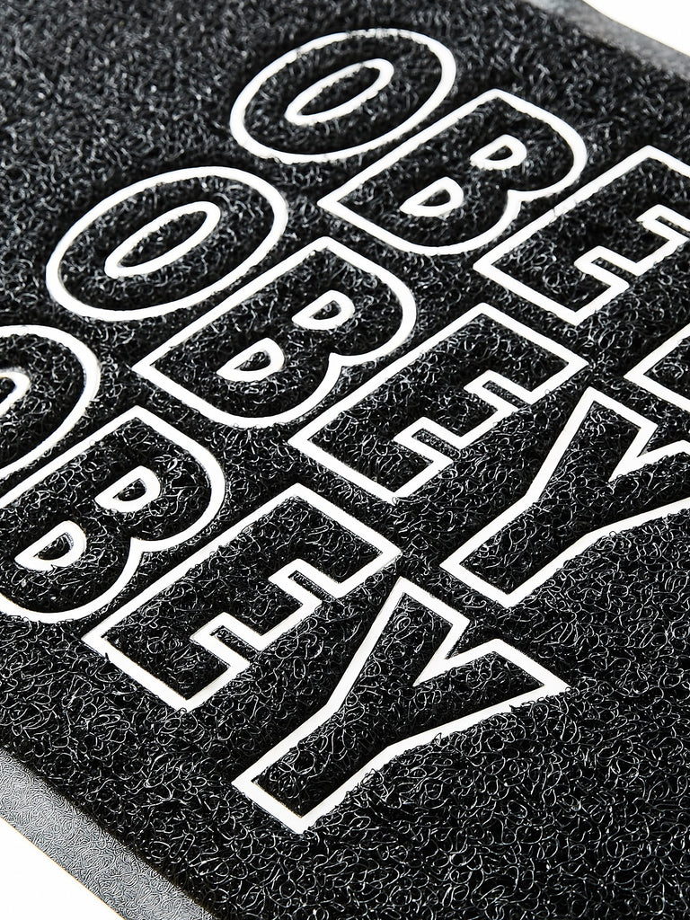 Jumble Stacks Doormat Black | OBEY Clothing