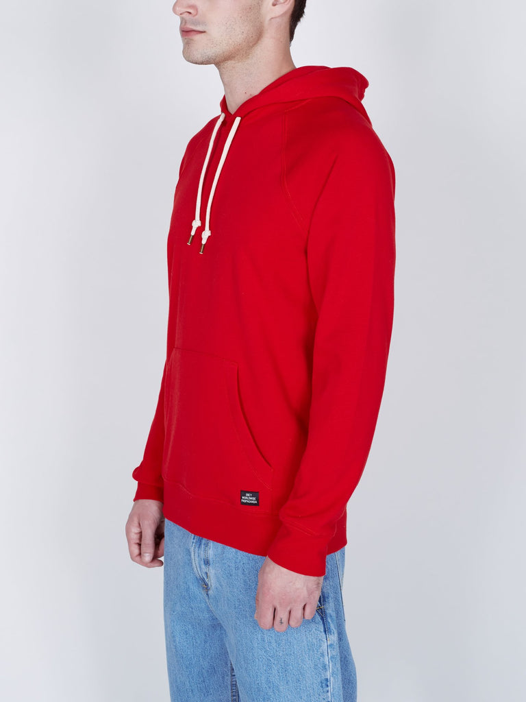 OBEY Lofty Creature Comfort II Pullover Hot Red | OBEY Clothing