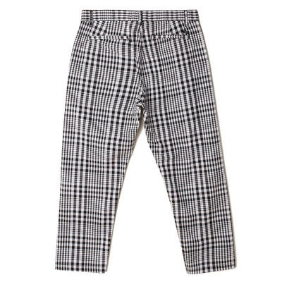 Straggler Plaid Flood Pant Black Multi | OBEY Clothing