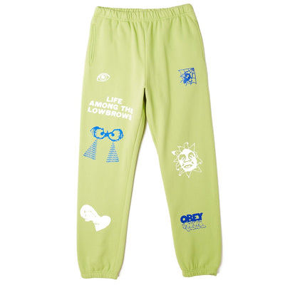 Chosen All Eyez Sweatpant Key Lime | OBEY Clothing