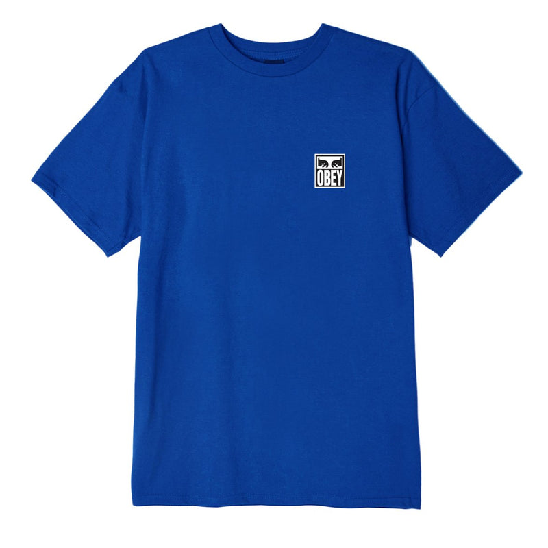 OBEY Eyes Icon 2 Basic Tee Royal Blue | OBEY Clothing