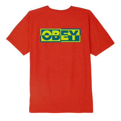 Inside Out OBEY 3 Basic Tee Red | OBEY Clothing