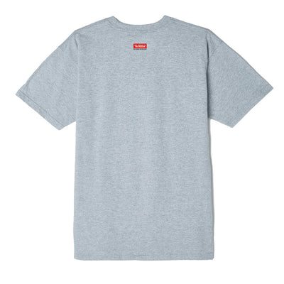 OBEY Building 30 Years Basic Tee Heather Grey | OBEY Clothing