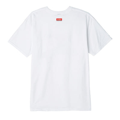 OBEY Building 30 Years Basic Tee White | OBEY Clothing