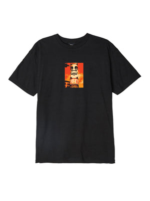 OBEY Pole 30 Years Basic Tee Black | OBEY Clothing