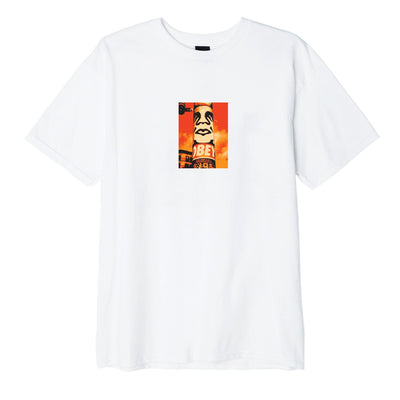 OBEY Pole 30 Years Basic Tee White | OBEY Clothing
